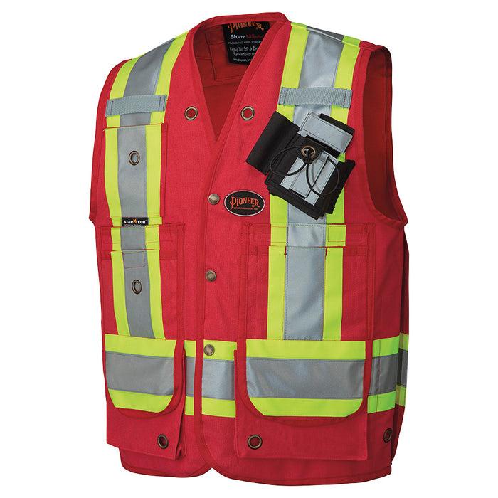 Vests Pioneer V1010610-L Csa Surveyor'S / Supervisor'S Vest