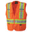 Vests Pioneer V1021150-S Hi-Viz Safety Tear-Away Mesh Back Vest