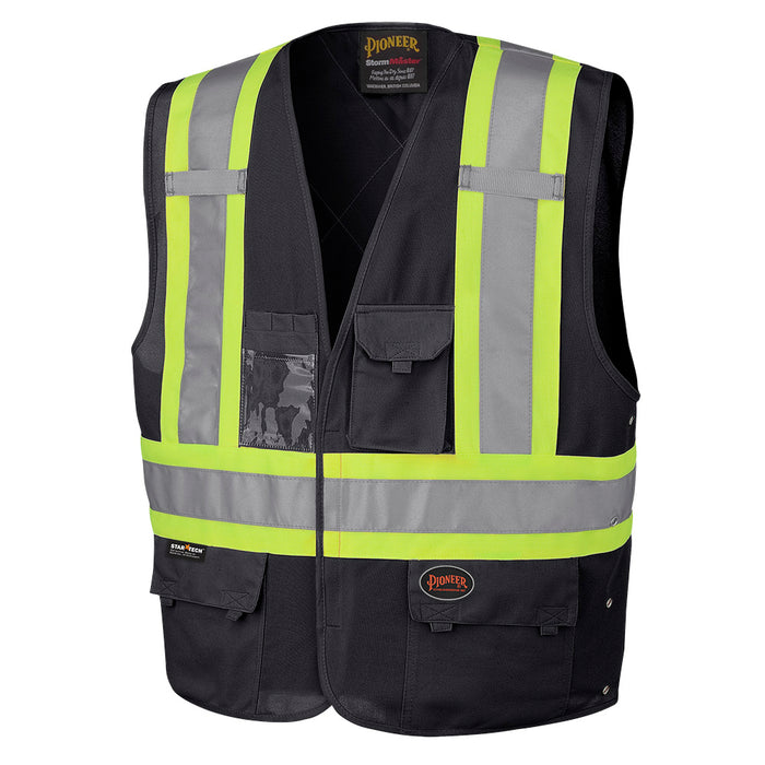 Vests Pioneer V1021570-L/XL Hi-Viz Safety Vest