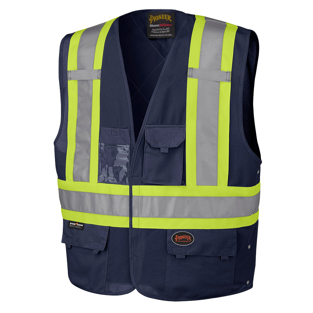 Vests Pioneer V1021580-S/M Hi-Viz Safety Vest