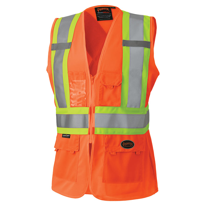 Vests Pioneer V1021850-XS Hi-Viz Women'S Safety Vest