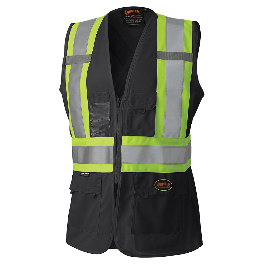 Vests Pioneer V1021870-L Hi-Viz Women'S Safety Vest