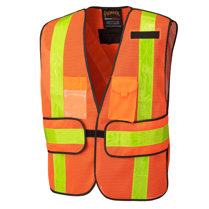 Vests Pioneer V1030150-O/S Hi-Viz All-Purpose Vest