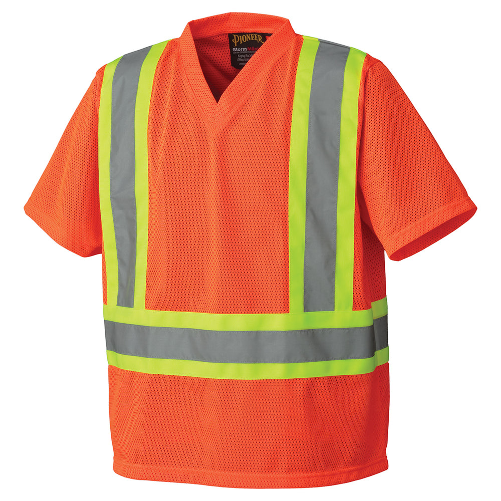 T-shirts Pioneer V1050450-3XL Hi-Viz Traffic T-Shirt