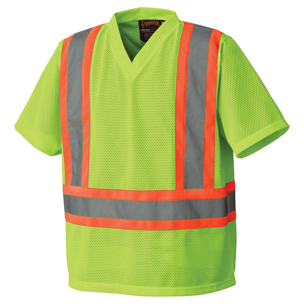 T-shirts Pioneer V1050460-3XL Hi-Viz Traffic T-Shirt