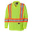 Shirts Long Sleeved Pioneer V1050960-XL Hi-Viz Traffic Micro Mesh Long-Sleeved Safety Shirt