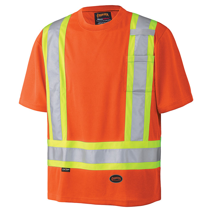 T-shirts Pioneer V1051150-2XL Birdseye Safety T-Shirt