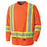 Shirts Long Sleeved Pioneer V1051250-M Birdseye Long-Sleeved Safety Shirt