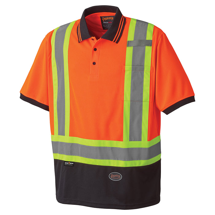Shirts Polo Pioneer V1051350-5XL Birdseye Safety Polo Shirt