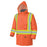 Parkas Pioneer V1150150-L Hi-Viz 100% Waterproof Winter Quilted Safety Parka (Large)