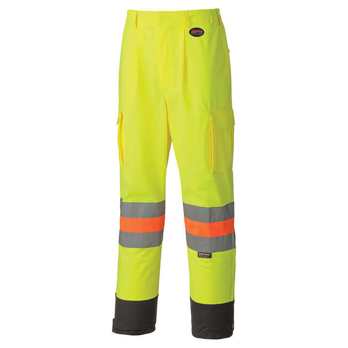 Pants Pioneer V1190260-2XL Hi-Viz Breathable Traffic Control Safety Pant