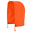 Hoods Pioneer V1200350-O/S Hood For 300D Ripstop Waterproof Safety Jacket in Hi-Viz Orange (One-Size)