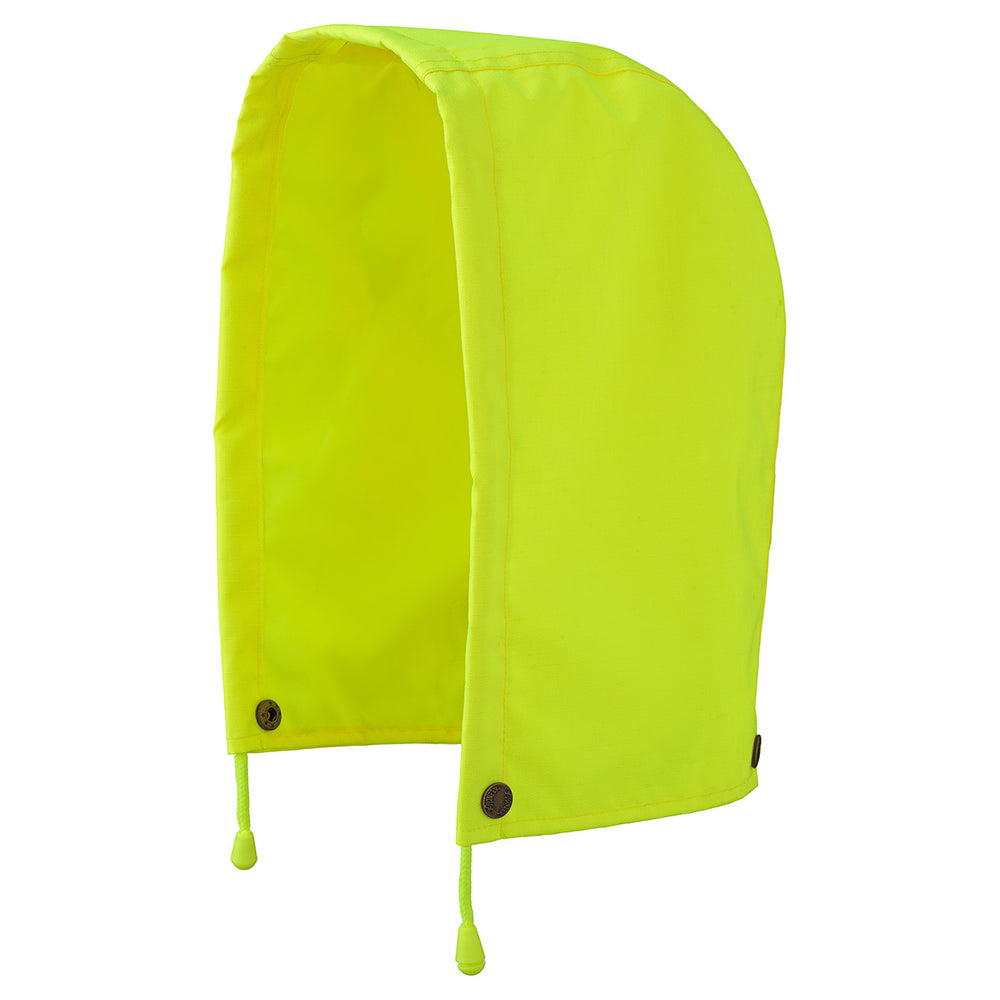 Hoods Pioneer V1200360-O/S Hood For 300D Ripstop Waterproof Safety Jacket in Hi-Viz Yellow/Green (One-Size)