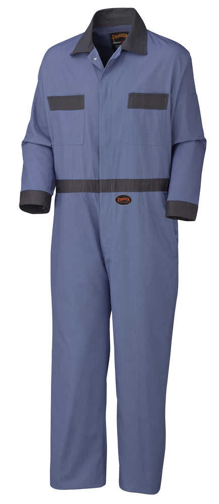 Coveralls Pioneer V201011T-50 Cotton Coverall With Concealed Brass Buttons