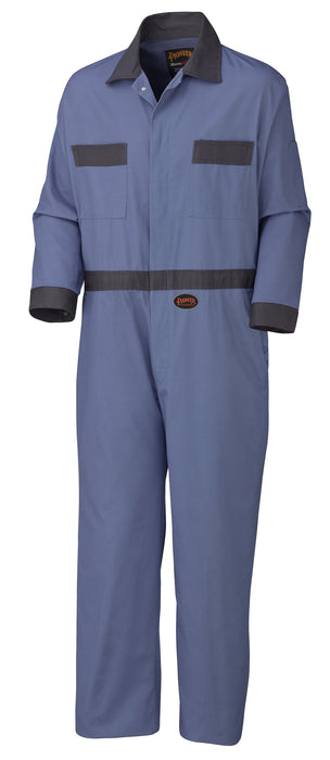Coveralls Pioneer V201011T-54 Cotton Coverall With Concealed Brass Buttons