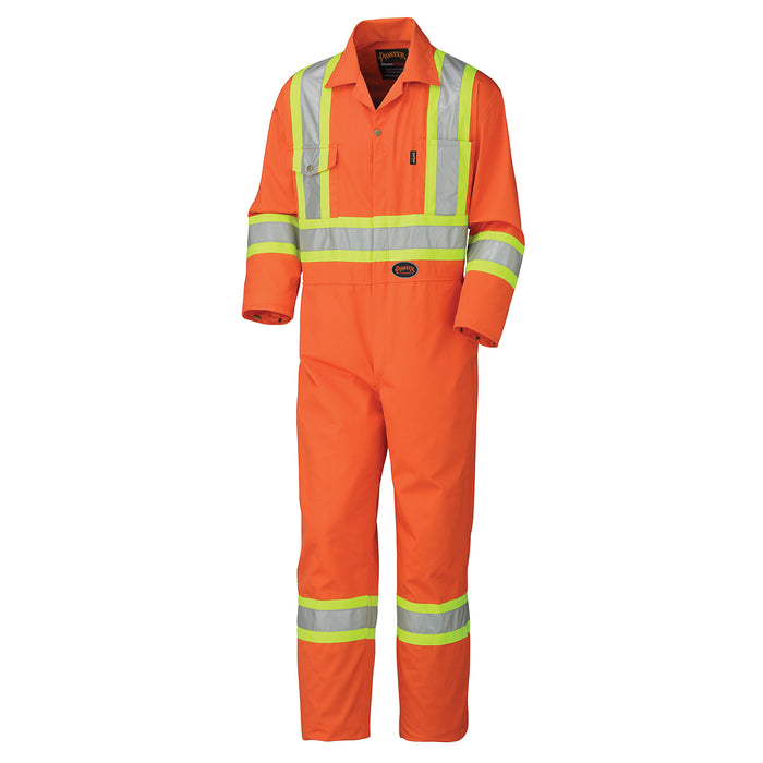 Coveralls Pioneer V202051T-58 Safety Poly/Cotton Coverall