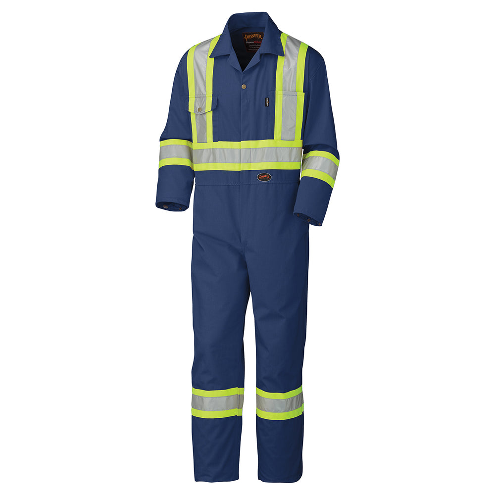 Coveralls Pioneer V202058T-52 Safety Poly/Cotton Coverall