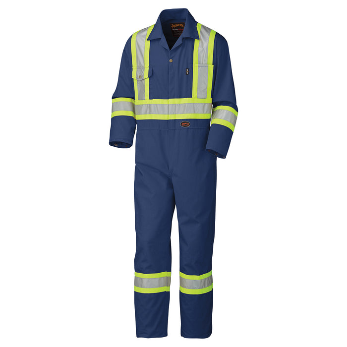 Coveralls Pioneer V202058T-60 Safety Poly/Cotton Coverall
