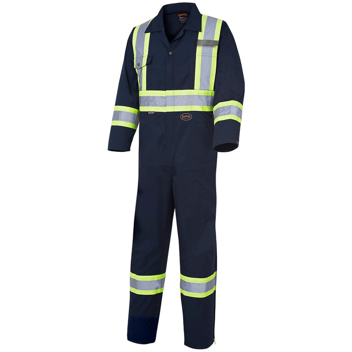 Coveralls Pioneer V202068T-46 Safety Poly/Cotton Coverall