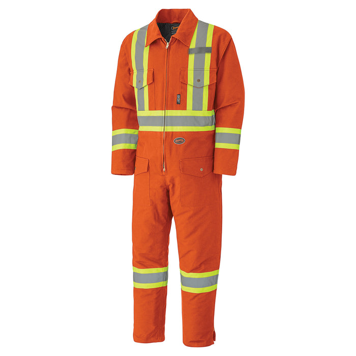 Coveralls Pioneer V206095A-XL Quilted Cotton Duck Safety Coverall
