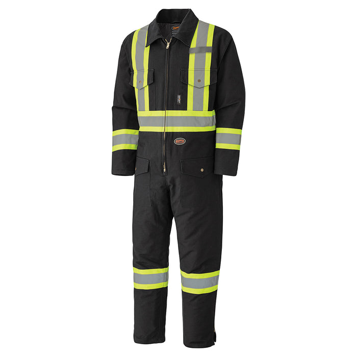 Coveralls Pioneer V206097A-4XL Quilted Cotton Duck Safety Coverall
