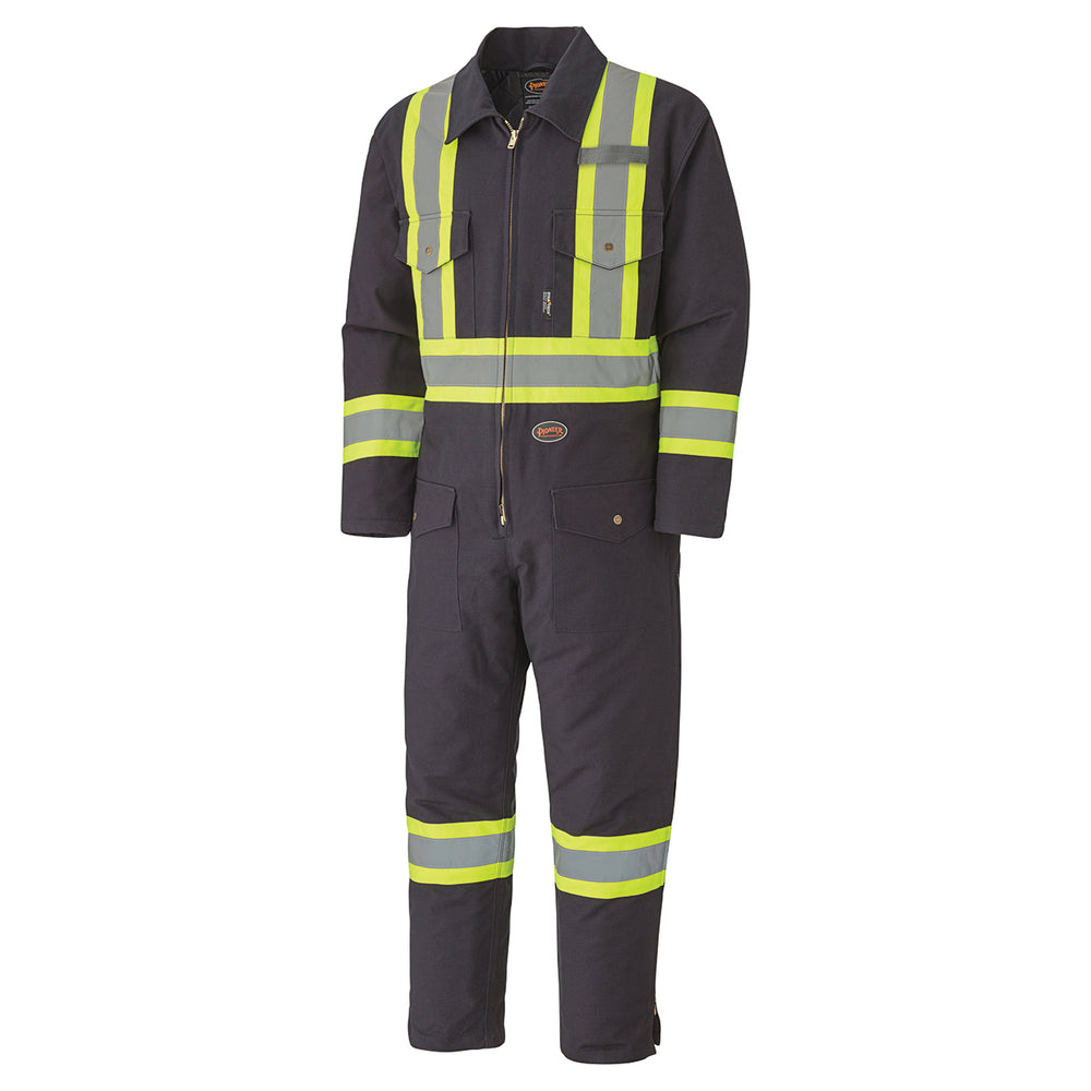 Coveralls Pioneer V206098A-2XL Quilted Cotton Duck Safety Coverall