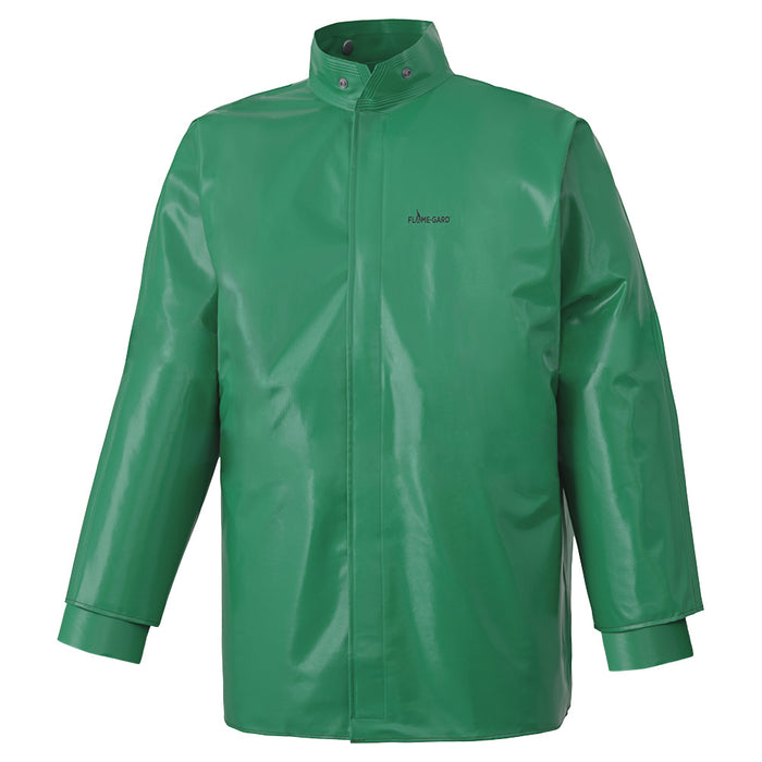 Jackets Pioneer V2240640-L FR and Chemical Protective Jacket in Green (Large)