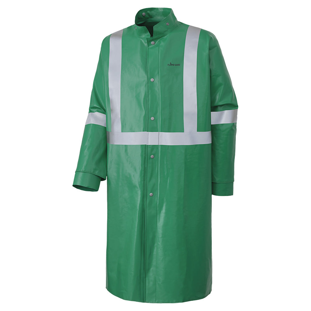 Coats Pioneer V2241740-XL FR and Chemical Protective Coat in Green (X-Large)