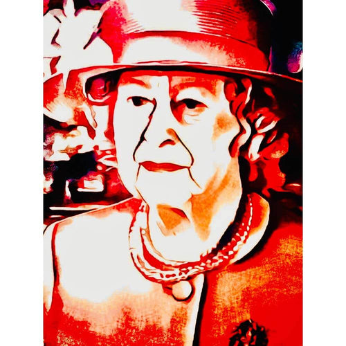 Malen nach Zahlen - The Queen - Artist's Edition - by zamart