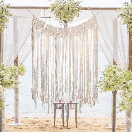 Beachy Bohemian wedding decor ideas