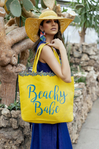 Shop Beach tote bag