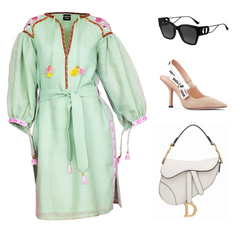 Miami stylish getaway linen outfit ideas for women