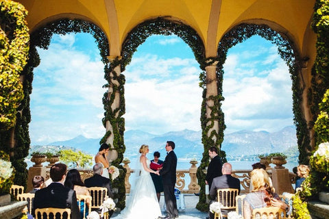 Lake Cuomo Destination wedding 2019