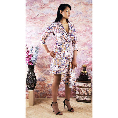 Jacket Dress Resort Dresses cruise dress Designer
