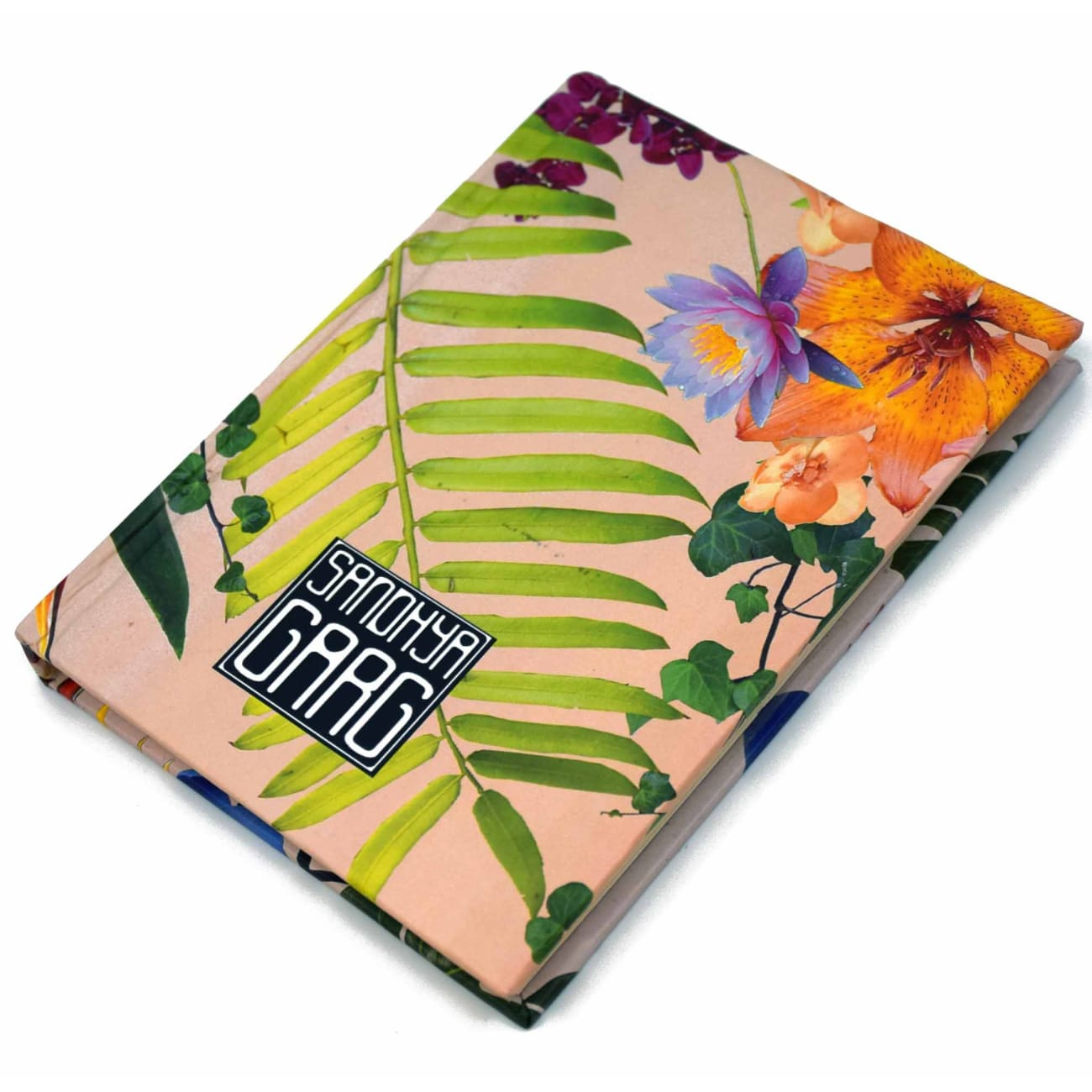 Floral Travel Journal Jewelry and Accessories Sandhya Garg Free Shipping Book Gift gifts TRAVEL Travel Journal