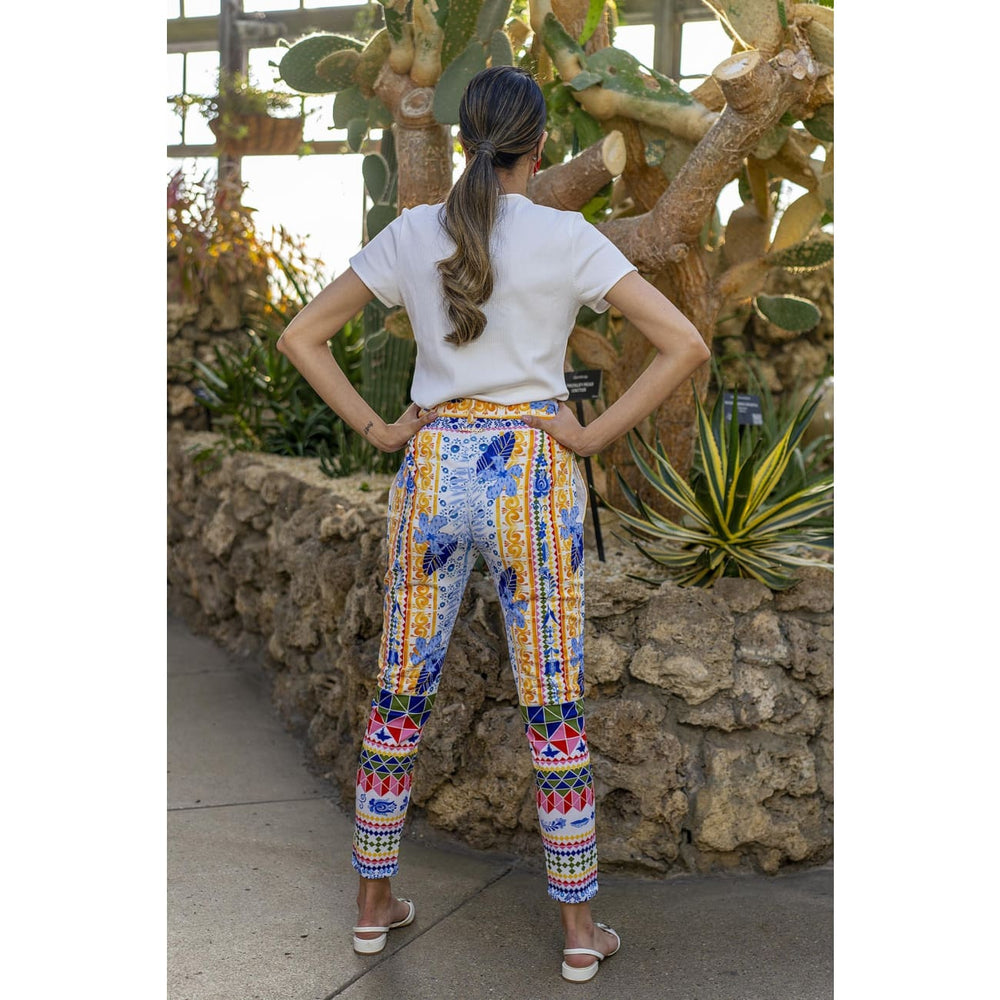 Gloria Printed Pants Skirt and Trousers Sandhya Garg Free Shipping Designer dress Dress for vacation Resort wear vacation dress Vacation