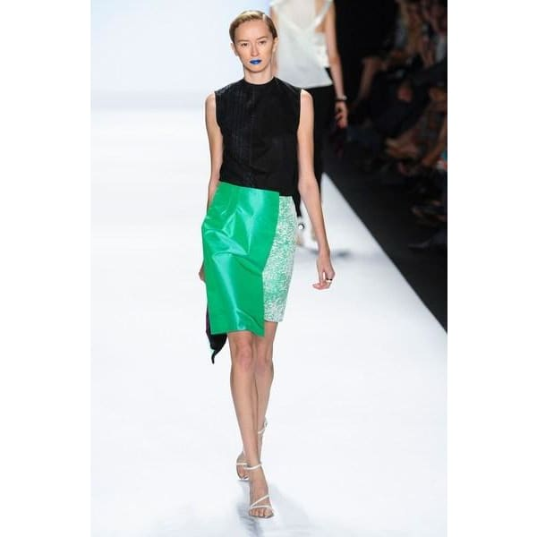 Imperfect Green Skirt Skirt and Trousers Sandhya Garg Free Shipping