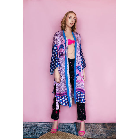 kimono duster jacket for vacation resort wear