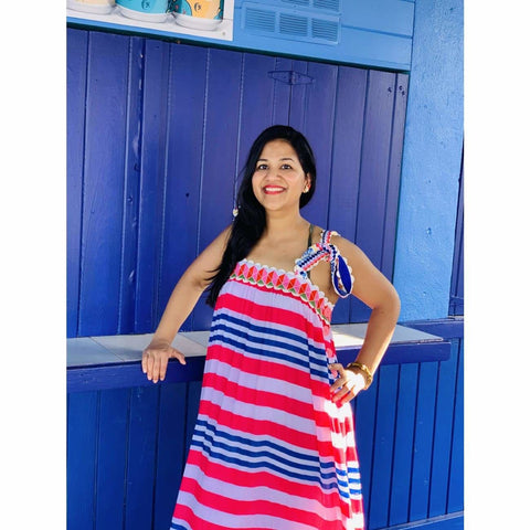 Maxi dress for beach summer vacation