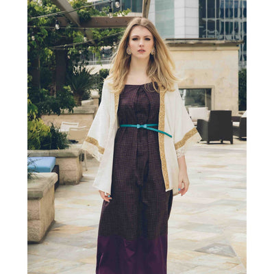 Nyra Jacket Jackets Sandhya Garg Free Shipping Custom Made United States Bohemian Bohemian Dress Boho Chic designer dress Luxury