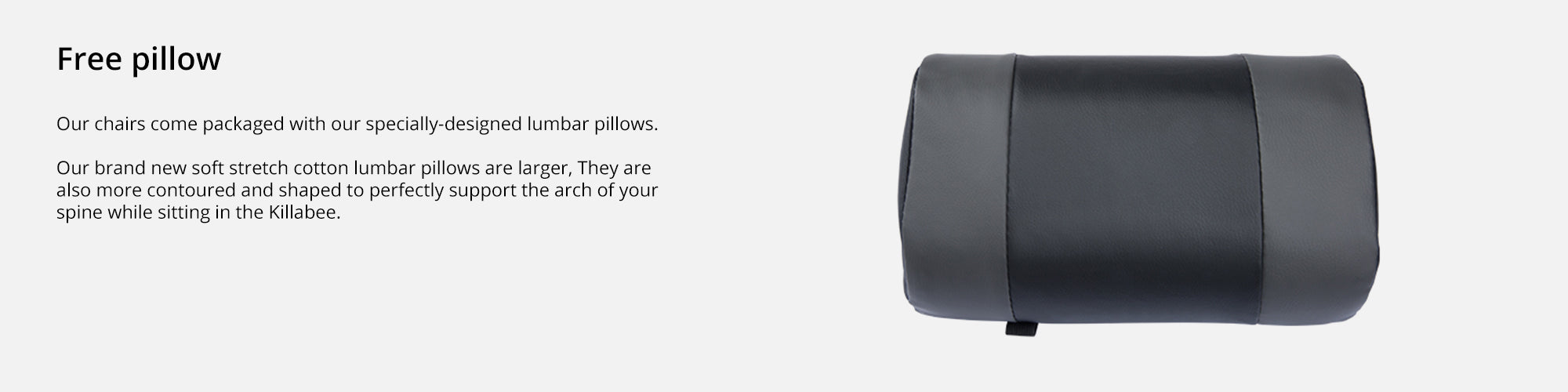 Features (Padded Pillow)