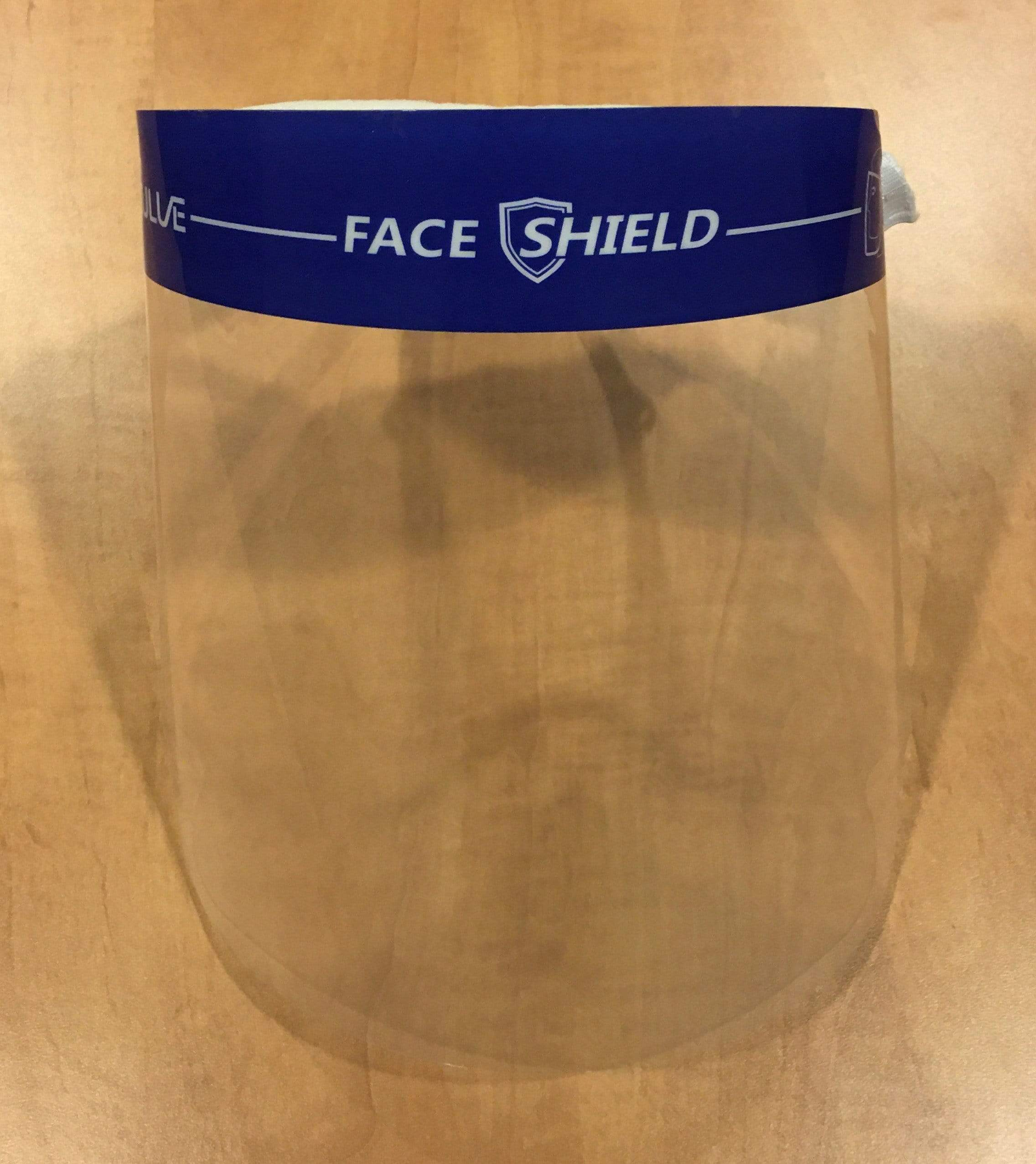 Eulve FH-01  ~  Disposable Face Shield - Packaged Individually (8-1/2