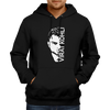 Image of CRIC 35- Virat Kohli with face-Hoodie-Black