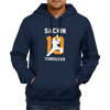 Image of CRIC 24- Sachin 10 Tendulkar-Hoodie-Navy Blue