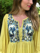 Effie Tunic Dress Embroidered | Shop The PIneapple Porch