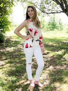 Fleur Floral Top | Shop The Pineapple Porch