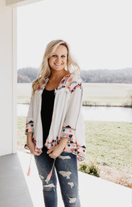 Dottie Embroidered Cardigan | Shop The Pineapple Porch
