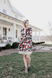 Miranda Printed Smocked Dress | Shop The Pineapple Porch