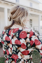 Miranda Printed Smocked Dress Back | Shop The Pineapple Porch