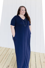 Tera Maxi Dress Navy | Shop The Pineapple Porch